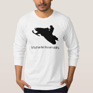 I'd Rather Be Snowmobiling... T-Shirt
