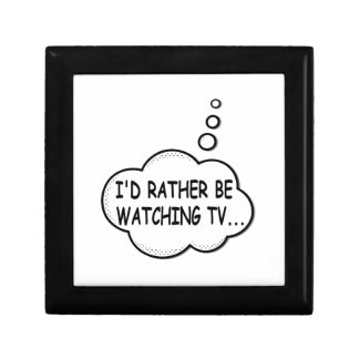 I'd Rather Be Watching TV Gift Box