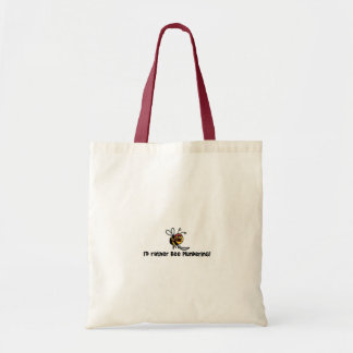 I'd rather bee plundering! tote bag
