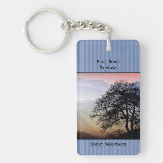 ID:  Smokies Blue Ridge Parkway Photography Keychain