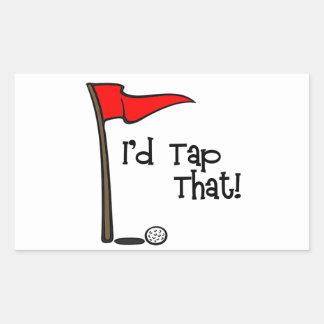I'd Tap That - Golf