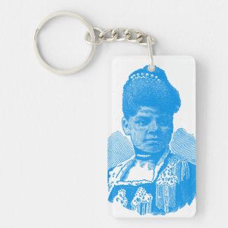 Ida B. Well Barnett Pop Art Portrait Keychain