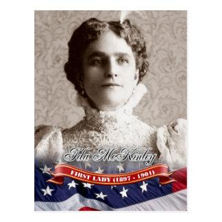 Ida McKinley, First Lady of the U.S. Postcard