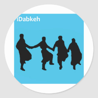 iDabkeh Round Sticker
