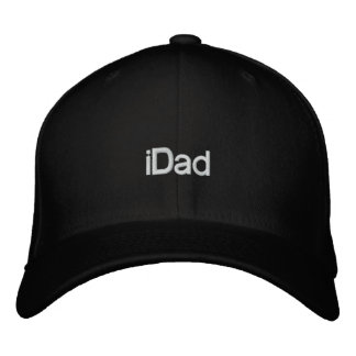 iDad Baseball Embroidery Hats for Dad Embroidered Baseball Cap