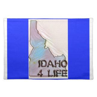 """Idaho 4 Life"" State Map Pride Design Placemat"