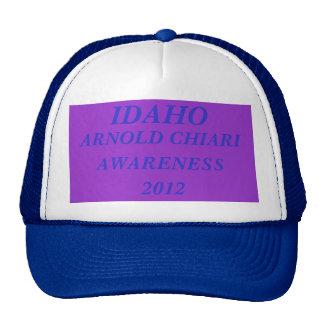 IDAHO, ARNOLD CHIARI , AWARENESS,2012 TRUCKER HAT