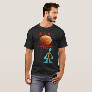 Idaho Blood Moon Lunar Eclipse 1.31.2018 T-Shirt