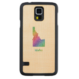 Idaho Carved Maple Galaxy S5 Case