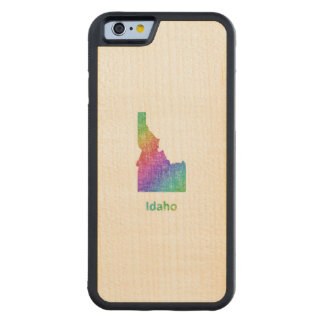 Idaho Carved Maple iPhone 6 Bumper Case