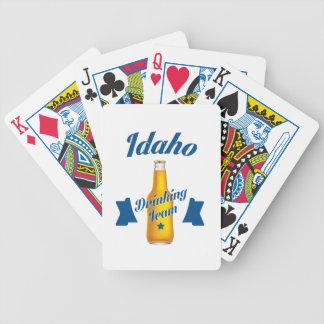 Idaho Drinking team Bicycle Playing Cards