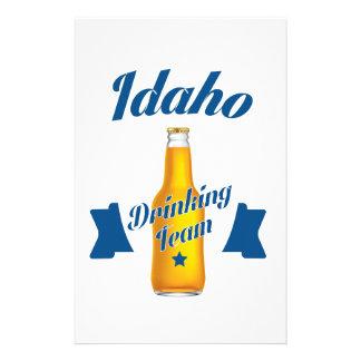 Idaho Drinking team Stationery