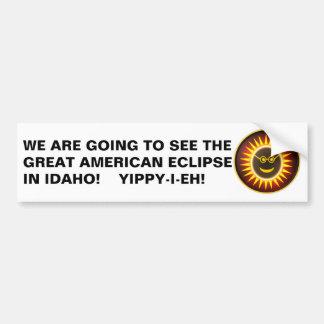 Idaho Eclipse Bumper Sticker