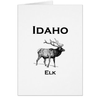 Idaho Elk Card