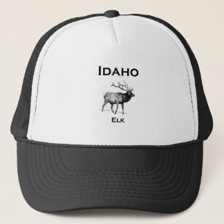 Idaho Elk Trucker Hat
