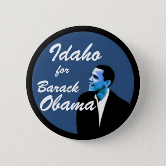 Idaho for Barack Obama 2 Inch Round Button