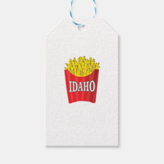 idaho french fries gift tags