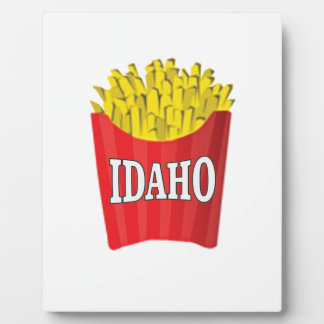 idaho french fries plaque