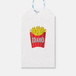 Idaho junk food gift tags