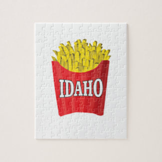 Idaho junk food jigsaw puzzle