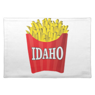 Idaho junk food placemat