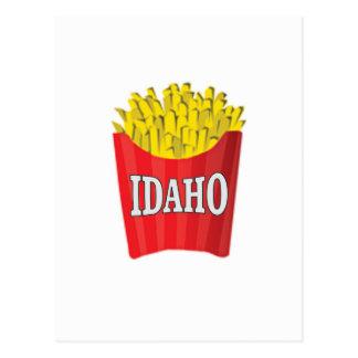 Idaho junk food postcard