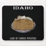 "Idaho ""Land of Famous Potatoes"". Mouse Pads"