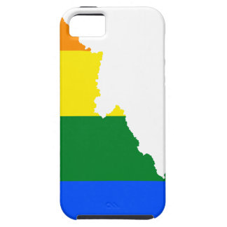 Idaho LGBT Flag Map Case For The iPhone 5