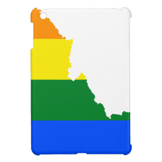 Idaho LGBT Flag Map Cover For The iPad Mini