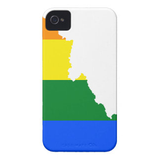 Idaho LGBT Flag Map iPhone 4 Covers