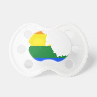 Idaho LGBT Flag Map Pacifier