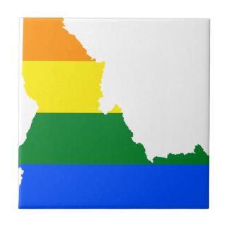 Idaho LGBT Flag Map Tile