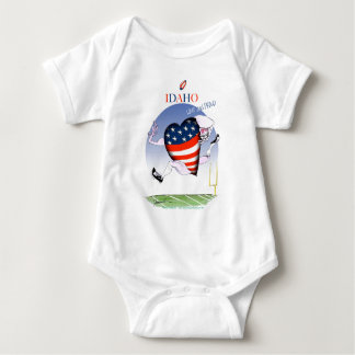 Idaho Loud and Proud, tony fernandes Baby Bodysuit