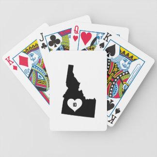 Idaho Love Bicycle Playing Cards