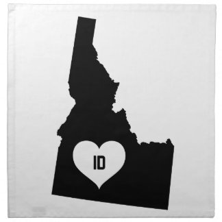 Idaho Love Napkin