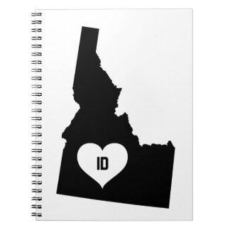 Idaho Love Notebook