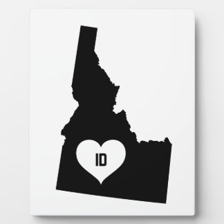 Idaho Love Plaque