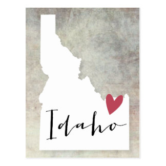 Idaho Love Postcard