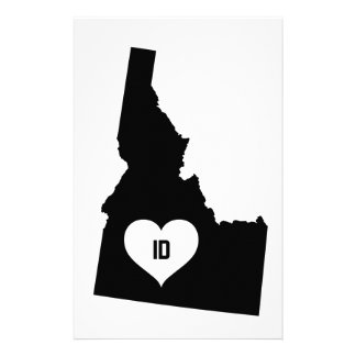 Idaho Love Stationery