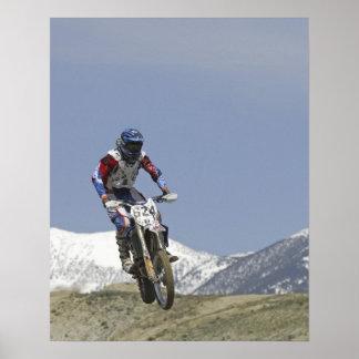 Idaho, Motocross Racing, Motorcycle Racing 2 Poster