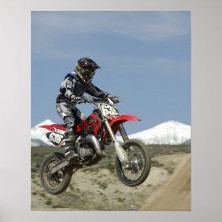 Idaho, Motocross Racing, Motorcycle Racing Poster