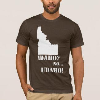 Idaho No Udaho Map T-Shirt