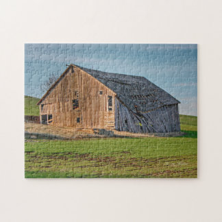 Idaho Palouse Old Barn Jigsaw Puzzle