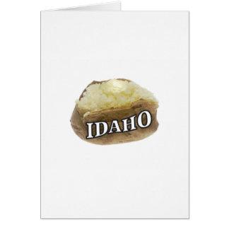 Idaho potato label card