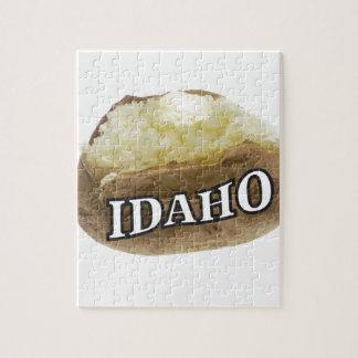 Idaho potato label jigsaw puzzle