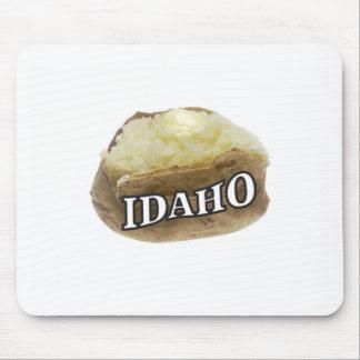 Idaho potato label mouse pad