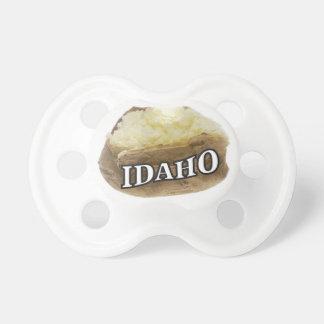 Idaho potato label pacifier