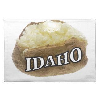 Idaho potato label placemat