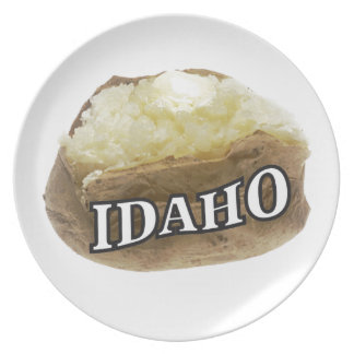 Idaho potato label plate