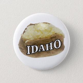Idaho spud 2 inch round button
